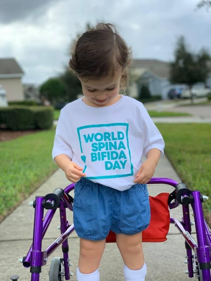 کودکان در روز جهانی اسپینا بیفیدا